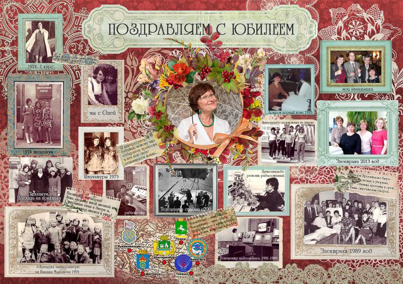 Стенгазета на юбилей 80 лет маме своими руками фото 30